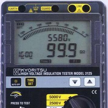 Đồng hồ đo điện trở cách điện Kyoritsu 3125