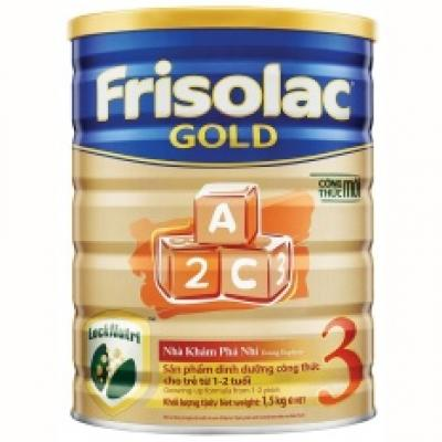 Sữa bột Frisolac Gold 3 1500g.
