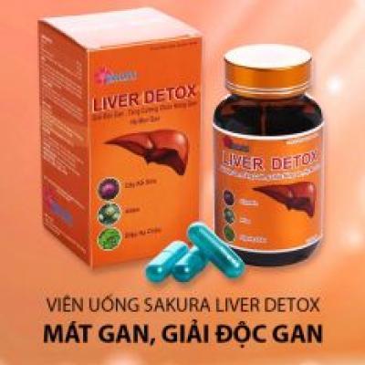 Giải độc gan LIVER DETOX+ tặng kèm 1 Detox Cool