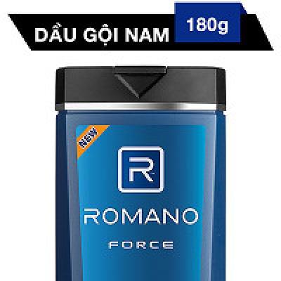 Dầu Gội Cao Cấp Cho Nam Romano Force (180g)